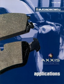 Metal Master Brake Pads by Autospecialty